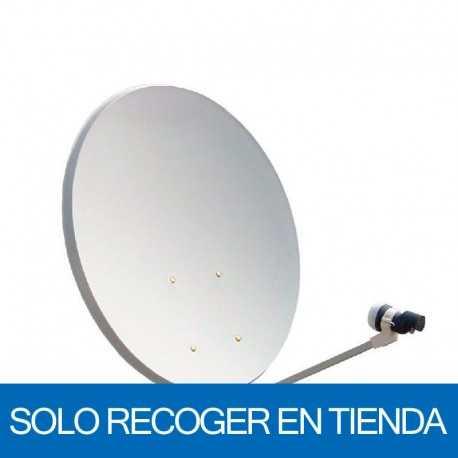 Antena de 110 x 100 cms. 41,7dB. Acero, base fija. Sin embalaje. Precio Unitario