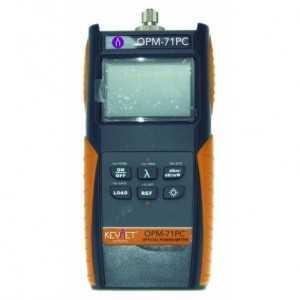 Medidor potencia optica -70/+10dBm con volcado datos a PC