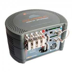 Cabecera transmoduladora compacta con 8 entradas QPSK/DVB-S2 a 8 salidas COFDM. Dispone de 2 CI. Gestionable remotamente.