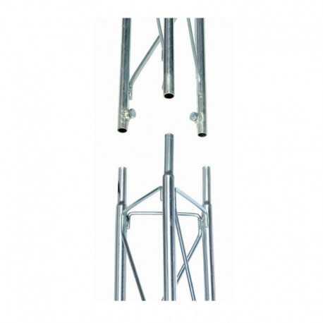 Torreta tramo intermedio 2.5m, 180mm, altura máxima 10mets (4 tramos)
