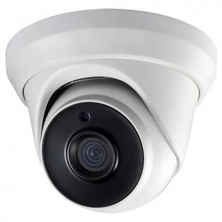 Cámara domo IR TVI CMOS High Performance 2Mpx, 2.8mm, 20mts. PoC Safire