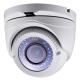 Cámara domo IR TVI CMOS High Performance 2Mpx, 2.8-12mm, 40mts. PoC