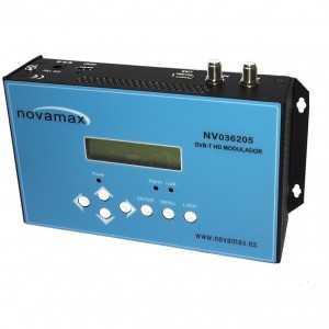 Modulador UHF/VHF HD 1 entrada y salida RF COFDM DVB-T, 111dB de salida, calidad MER: menor 31dB