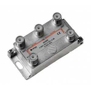 """Distribuidor 4 salidas, 5-2400mhz, Paso cc, """"picollo"""", F. Mitan DV4F8"""