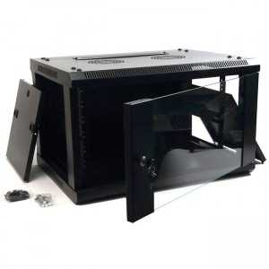 """Rack de pared 19"""", 6U. F 450 / AN 600 / AL 370 mm. Sin Accesorios"""