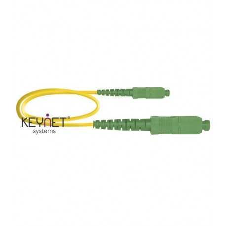 Latiguillo F.O. SC/APC-SC/ACP SM, 3mts, amarillo, LSZH-FR, G657A2 1.9mm