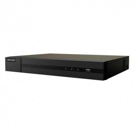 Grabador NVR 16ch IP hasta 8Mpx, 16 salidas POE. H.265+