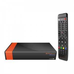Receptor SAT (S2), FULL HD, H.265, Wifi integrado