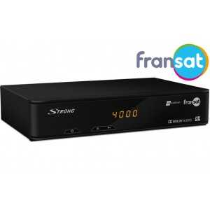 Receptor TV satélite HD. Fransat Atlantic Bird 3. STRONG SRT 7405