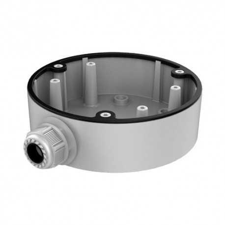 Hiwatch Hikvision - Caja de conexiones para cámaras domo - Aleación de aluminio - 13.7 mm (diámetro base)