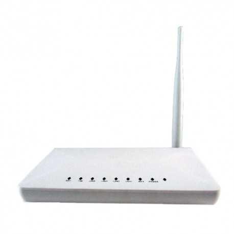 Conversor de cable de datos esclavo a cable coaxial con función router Wifi. EOC14W
