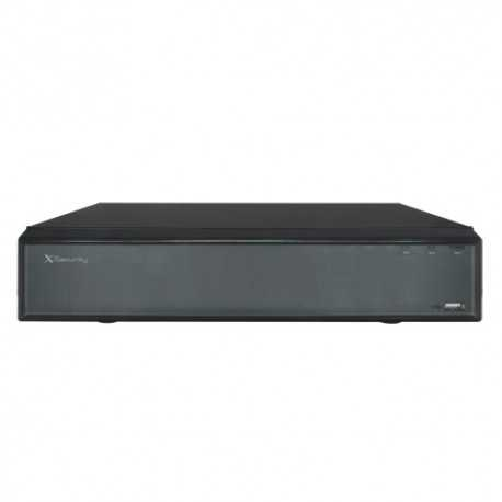 NVR IP hasta 16 canales POE, 12Mpx, 4K. X-SECURITY