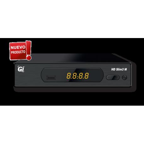 Receptor TV satlélite HD tamaño MINI, PVR, Timeshift, RCA, Soporta WIFI, Soporta MKV, AVI, MP3, JPEG