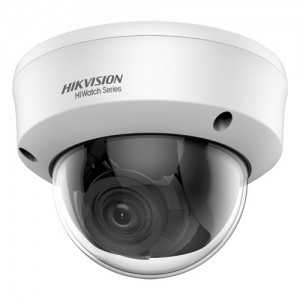 Cámara domo 4 en 1, 1080p, 2.8-12mm, IR 40mts. IP66, blanca