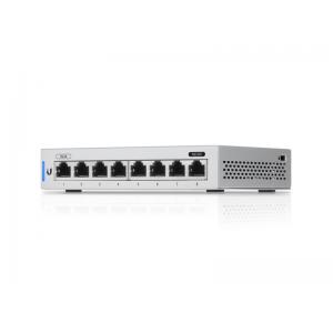 Switch gestionable con 8 puertos Gigabit. Montaje en Rack