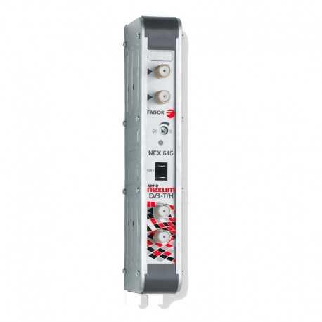Amplificador de canal digital en UHF, G53 dB 125 dBnV, 24V. Fagor NEX 645 C/33