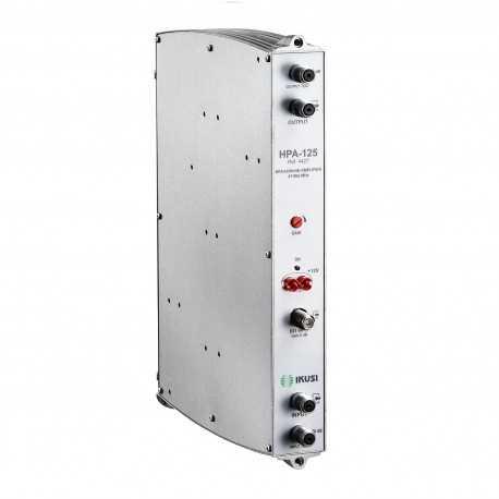 Amplificador VHF-UHF 45dB, 125dBuV. Cabeceras ClassA.