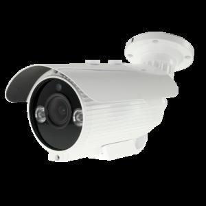 Cámara bullet 4 en 1, 1080p, 2.8-12mm, IR 50mts. IP66, blanca
