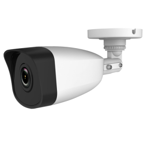 Cámara IP bullet, 3MPx, IR 30mts, 2.8mm, H.264+, PoE802.3af. IP67