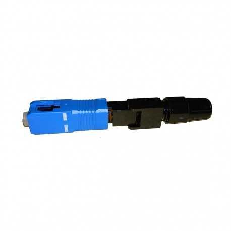 Conector rápido de fibra óptica SC/UPC