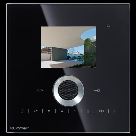 Monitor de recambio serie Planux, color, manos libres. Color negro.