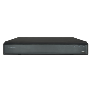 XVR hasta 16CH + 8 IP. 8Mpx, salida HDMI 4K. H265+. X-SECURITY