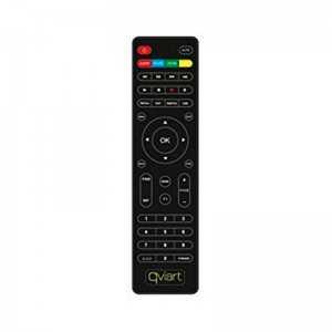 Mando a distancia compatible con el receptor Qviart Mini 2 (pieza original del fabricante) / Unic y Combo