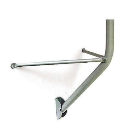 Soporte Mixto Pared/Suelo, diametro de 80cm, 750mm, Diámetro tubo 40x1,5mm