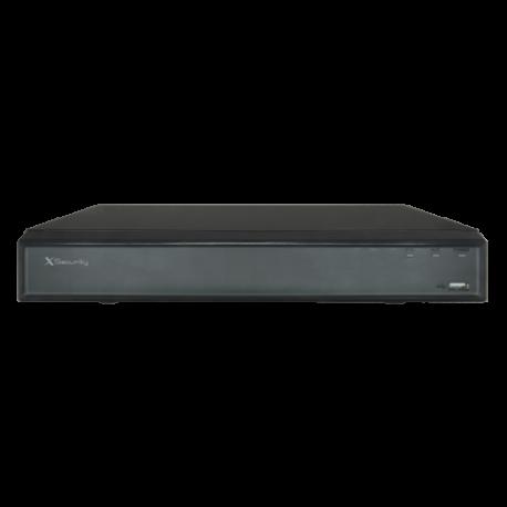 XVR hasta 32CH, salida HDMI. X-SECURITY